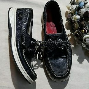 {Sperry} Top Sider leather boat shoes